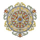 Ancient mandala element Royalty Free Stock Images