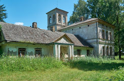 The ancient manor in Belarus Royalty Free Stock Images