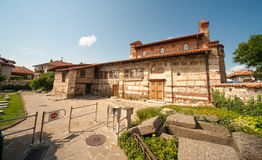 Ancient manor in Nessebar in Bulgaria Royalty Free Stock Photo
