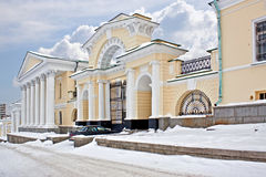 Ancient manor in Yekaterinburg Royalty Free Stock Images