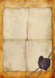 Ancient manuscript Stock Images