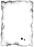Ancient manuscripts 4. Ancient sheet of a paper. The image is especially convenient for the further on it imposings of the text. On a paper there are blots from Royalty Free Stock Photos