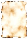 Ancient manuscripts 6. Ancient sheet of a paper. The image is especially convenient for the further on it imposings of the text Royalty Free Stock Image