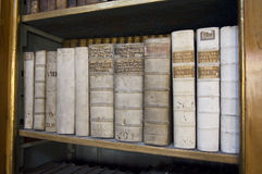 Ancient Manuscripts Strahov Library Prague Royalty Free Stock Photos