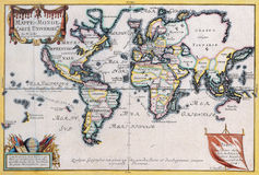Ancient map Royalty Free Stock Images