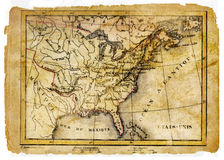 Ancient map Stock Photography