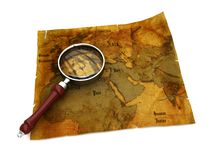 Ancient map Stock Photos