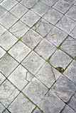 Ancient marble floor Stock Image