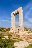 The Ancient marble gate  Stock Photos