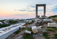 The Ancient marble gate  Royalty Free Stock Photography