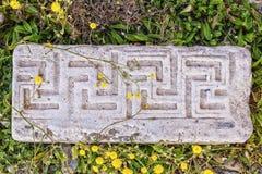 Ancient Marble Masonry Stock Photos