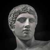 The ancient marble portrait bust Royalty Free Stock Photo