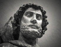 The ancient marble portrait bust Royalty Free Stock Images