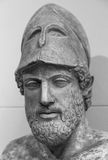 Ancient marble portrait bust of Pericles Stock Images