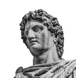 Castor or Pollux ancient roman statue Royalty Free Stock Image