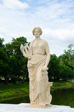 Ancient marble statue of Woman Royalty Free Stock Photos