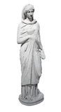 Ancient marble statue of a young woman Royalty Free Stock Images