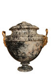 Ancient marble vase Stock Photography