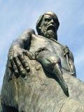 Ancient Mariner. Statue on Harbourside in Watchet Somerset UK England Stock Images