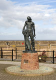 Ancient Mariner Statue Watchet Harbour Stock Images