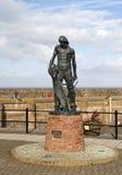 Ancient Mariner Statue Watchet Harbour Stock Images
