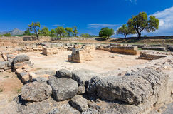 Ancient marketplace in Alcudia city Royalty Free Stock Photo