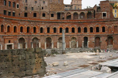 Ancient marketplace, Trajan's Forum Stock Photo