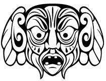 Ancient mask Stock Images