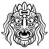 Ancient mask Royalty Free Stock Photo