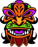 Ancient mask. Various beautiful masks depicting the faces Royalty Free Stock Image