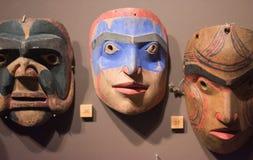 Ancient masks vector illustration