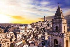 Ancient Matera  - Basilicata, Italy Stock Photography