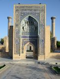 Ancient Mausoleum of Tamerlane in Samarkand Stock Images
