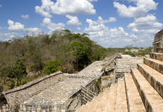 Ancient Maya city of Ek Balam Stock Photography