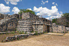 Ancient Maya city of Ek Balam Stock Photo