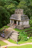 Ancient maya city of Palenque XVII Stock Photography