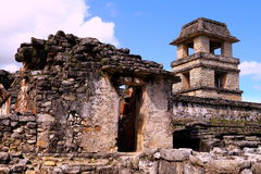 Ancient maya city of Palenque XX Royalty Free Stock Photos