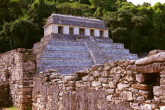 Ancient maya city of Palenque XXI Royalty Free Stock Image