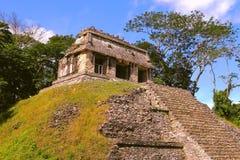 Ancient maya city of Palenque XXVI Stock Image