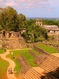 Ancient maya city of Palenque XXVII Royalty Free Stock Image