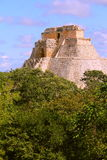 Ancient Maya city of Uxmal IV Royalty Free Stock Photography