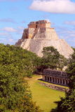 Ancient Maya city of Uxmal XI Royalty Free Stock Photos