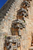Ancient Maya city of Uxmal XXIII Royalty Free Stock Images