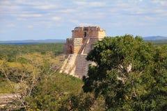Ancient Maya city of Uxmal XXXII Stock Images