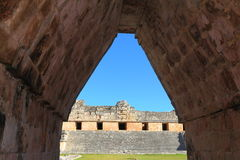 Ancient Maya city of Uxmal XXXVI Royalty Free Stock Photos