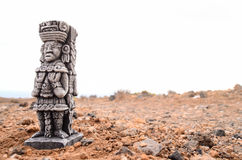 Ancient Maya Statue Royalty Free Stock Photos