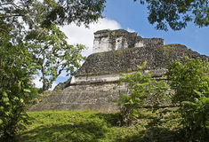 Ancient Maya structure in Guatemala Royalty Free Stock Photos