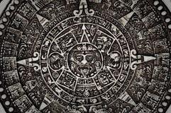 Ancient Mayan Calendar Royalty Free Stock Photos
