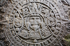 Ancient Mayan Calendar Stock Images