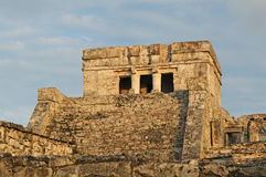 Ancient Mayan Ceremonial Temple Royalty Free Stock Images